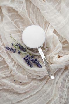Lemon Lavender Cake with Honey Lavender Glaze