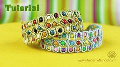 Beaded Bracelet Tutorial | Macrame School