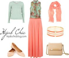 outfit hijab chic