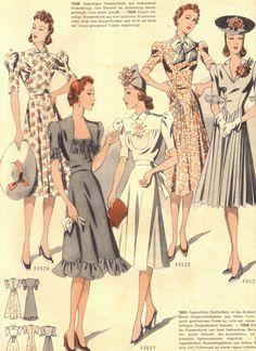 30s fashions #30sfashion #1930s #30sdresses