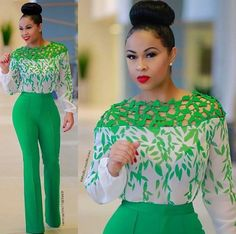 The stylish attires that would be displayed here would show you how you could dress to a formal environment and still be hot enough to turn heads outside the professional environment. Find below some of the stylish outfits for Nigerian women. African Attire, African Wear, African Fashion Dresses, African Dress, African Women Fashion, Chic Outfits, Fashion Outfits, Womens Fashion, Office Outfits