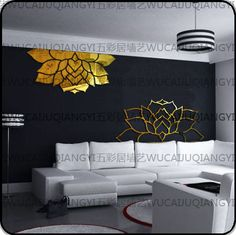 A130 Dutch rhyme * 2 mm thick three - dimensional crystal mirror wall stickers wall stickers Mirror stickers living room TV wall sofa background - ZZKKO http://zzkko.com/n53385 $ 30.48