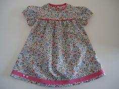 Petite robe à manches ballon : Mode Bébé par au-pays-des-jolis-pois