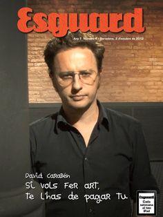 Portada Revista ESGUARD.  Octubre 2012.