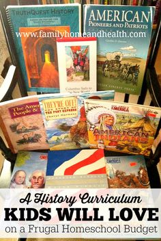 Looking for an American History curriculum that your kids will love? See the frugal curriculum I put together! It's history with a Charlotte Mason feel!