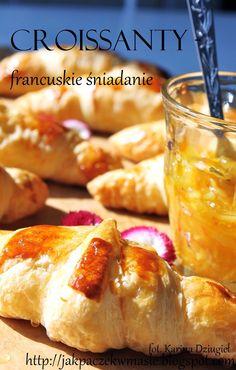 Jak pączek w maśle...blog kulinarny,smacznie,zdrowo,kolorowo!: Domowe croissanty