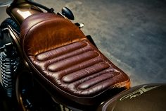 Such a beautiful seat! Honda CX500 Cafe Racer By Kingston Custom 5