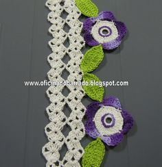 WORKSHOP OF BARRED: Croche - Other colors in BARRED. . .photo tut