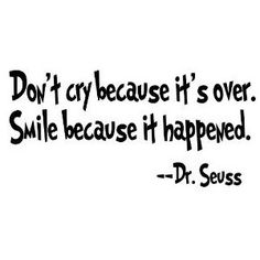 Great quote by Dr. Seuss