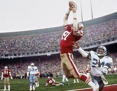 The Catch. 49ers fans are sure to remember this.