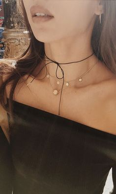 Lilou Leather Choker | Are You Am I