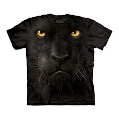 Black Panther Face Tee now featured on Fab.
