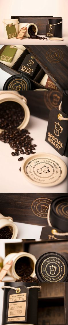 Good Morning Coffee Company | repinned by www.BlickeDeeler.de | Follow us on www.facebook.com/BlickeDeeler