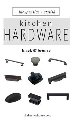 Where To Buy Affordable Kitchen Hardware, Farmhouse Style Kitchen Cabinet  Hardware For Cheap, Cabinet Pulls U0026 Knobs | Theharperhouse.com