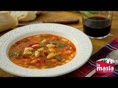 Contra el frío un buen plato de #alubias con #verduras. La receta completa, en nuestro blog.