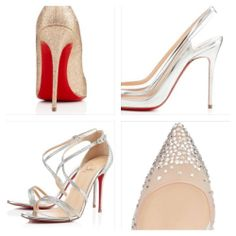 Red bottom is all you need. Louboutin