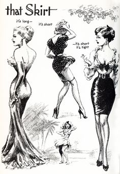 "vintagegal: "" Illustration by John Willie from Bizarre Magazine issue 7, 1952 """