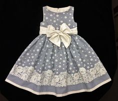 Vestido Tricoline Barrado- 4 anos (4 years ) ----------------- À venda em (For sale in) https://www.facebook.com/dona.fada.moda.para.fadinhas/.............................................................. . . .baby - infant - toddler - kids - clothes for girls - Moldes Gratuitos - Free Patterns