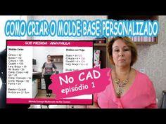 Curso Grátis - Modelagem Tecido - Como Tirar Medidas? - YouTube