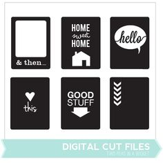 Good Stuff Card Cut Files - Available June 2013 only!