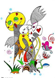 아기 새 사랑 나무 / Baby bird Love Tree