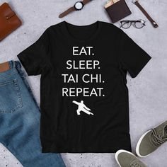 1Tee Kids Boys Eat Sleep Run Repeat T-Shirt