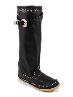 Moow overknee kilehæl støvler
