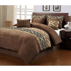 Santa Fe 7-Piece Comforter Set - Walmart.com
