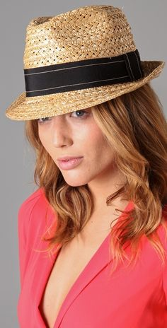 I adore hats....This straw hat from DSquared just feels like summer to me…