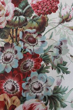 Image of thirties floral panel