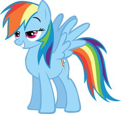 My Little Pony Friendship is Magic Photo: Pleased Rainbow Dash Mlp My Little Pony, My Little Pony Friendship, Raimbow Dash, Mlp Twilight Sparkle, Mlp Pony, Fluttershy, How To Train Your Dragon, Coloring Pages, Rainbow