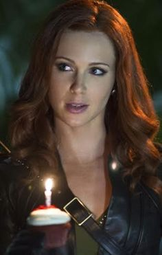 """Carrie Cutter a.k.a. Cupid played by Amy Gumenick. Introduced in season three of CW's """"Arrow."""""""