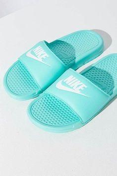 Nike Sandales Benassi JDI Violet Rouge