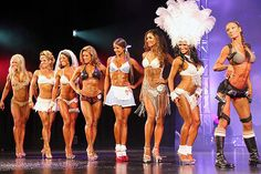 Top Fitness Models at WBFF World Championships