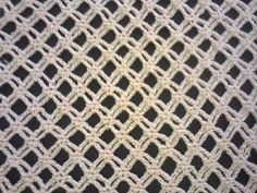 Узор сеточка (вязание крючком). Mesh pattern (Crochet). - YouTube Crochet Symbols, Crochet Stitches Patterns, Crochet Chart, Bead Crochet, Crochet Motif, Crochet Lace, Free Crochet, Stitch Patterns, Knitting Videos