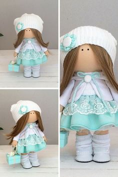 Textile doll Handmade doll Tilda doll Interior doll Art doll