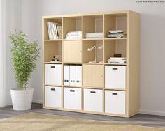 KALLAX serija ima najfleksibilnija i najuniverzalnija rješenja za odlaganje kvadratnog oblika. www.IKEA.hr/KALLAX