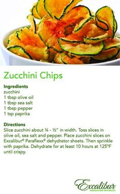 Old #Farmer's Day is today, Oct. 12, 2014 - Enjoy the #Fall #Harvest with Zucchini Chips & Excalibur Dehydrators!                                                                                                                                                                                 More