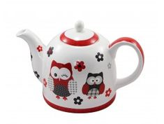 l, sovy - ModerniNakup. Tea Pots, Tableware, Dinnerware, Tablewares, Tea Pot, Dishes, Place Settings, Tea Kettles