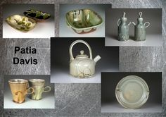 Patia Davis will be exhibiting at the pottery and food festival at Wardlow Mires.