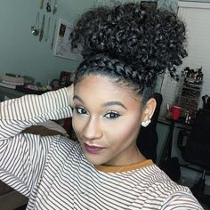 How To Style Natural Hair Gorgeous 50 Easy And Showy Protective Hairstyles For Natural Hair  Pinterest