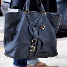I think I need this as an every day black bag! YSL Tote Bag Where to Buy Though???