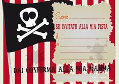 Elegraf Grafica Freelance: Partykit gratis per festa a tema pirati