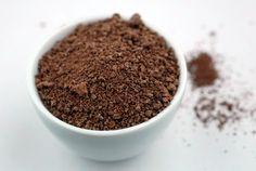 "do this with carobs... Chocolate ""Dirt"" on http://www.elanaspantry.com"