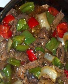 CROCK POT PEPPER STEAK – Easy Recipes