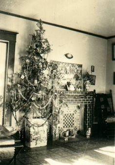 vintage Christmas photo-about 1929 (christmas photos vintage)