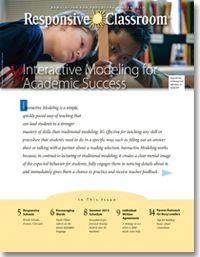 Responsive Classroom Newsletter | Responsive Classroom