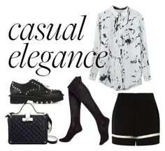 """smart casual"" by effing-justice on Polyvore featuring Alexander Wang, Hue, Neil Barrett, women's clothing, women, female, woman, misses and juniors"