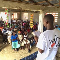 The great news is we safely arrived in the town of Seramond and were greeted by 200 enthusiastic people!  The unfortunate news is we were only scheduled to deliver 90 solar lights today.  I am not gonna sugar coat it... it is REALLY hard to see such need and not have a new light for everyone that shows up. Although we explain as best we can before arriving that we only have a limited number of lights you can't blame those not on the list for coming and hoping that there will be extras lights…
