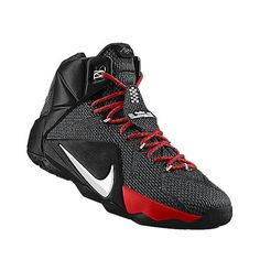 lowest price c5d98 639e1 I designed the university red Nike LeBron 12 iD men s basketball shoe with  volt trim.